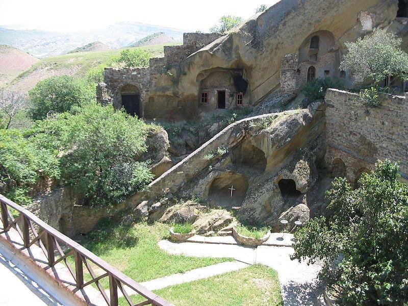 Davit Gareja Cave Monastery | Atlas Obscura
