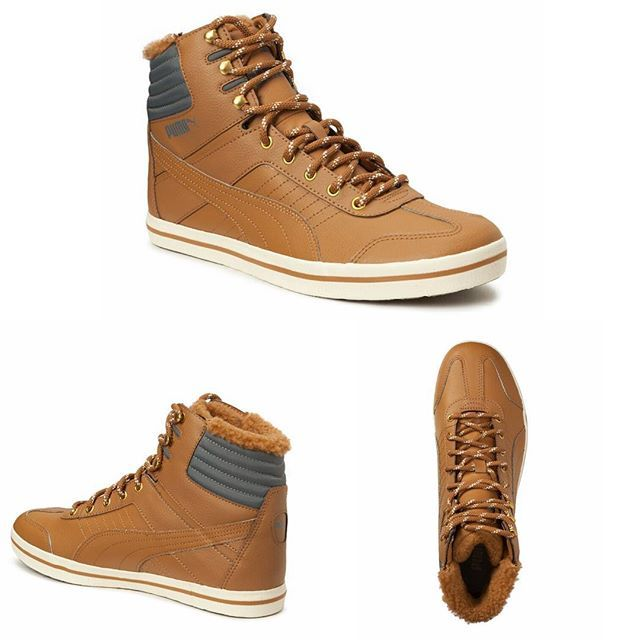 """Very stylish autumn sneakers from @puma called """"Tatau Sneaker Boot"""". It's yours for about $120 at @boozt .  #sneakers #puma #boots #fashion #mensfashion #autumnfashion #menswear #mensclothing #instashoes"""