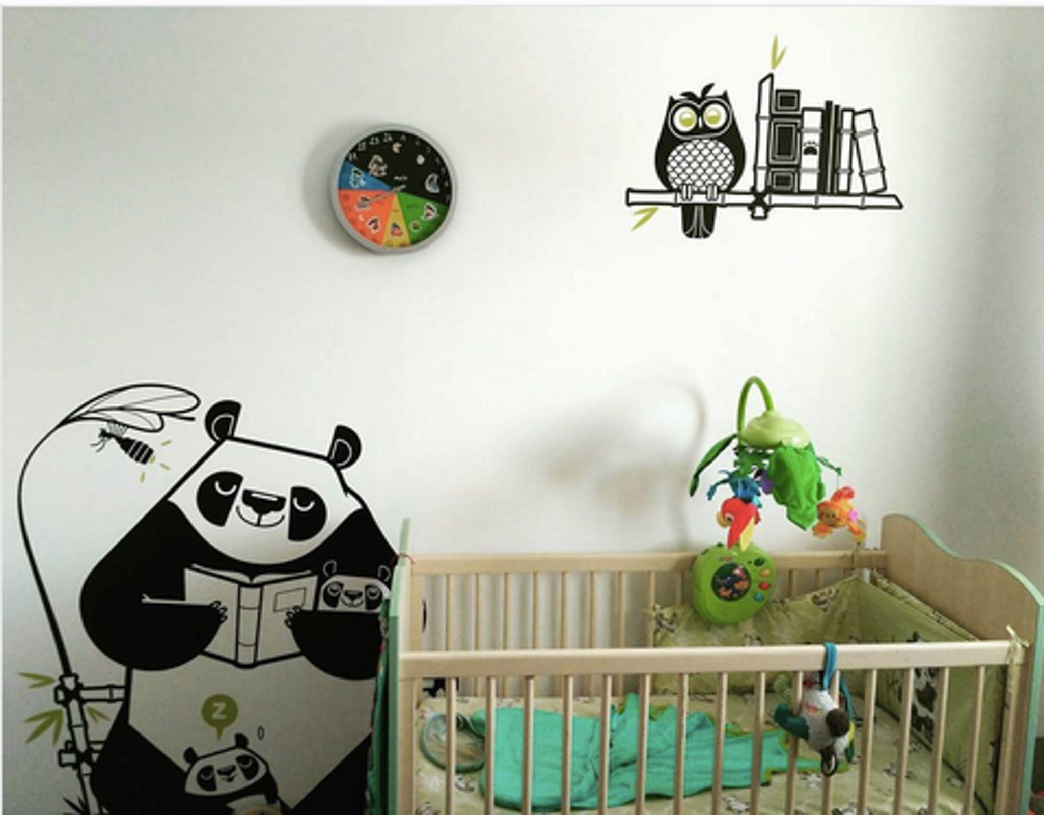 design de qualité vente chaude en ligne jolie et colorée Une jolie idée pour la déco de la chambre de votre bébé ...