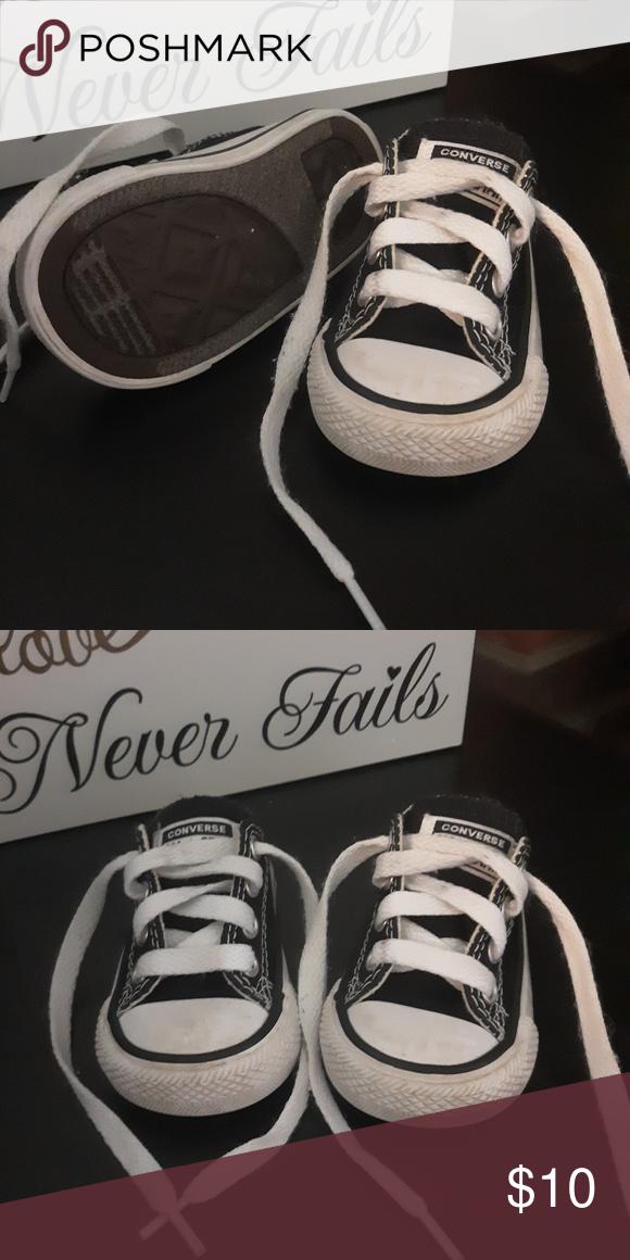 Infant Converse Infant size 2 converse