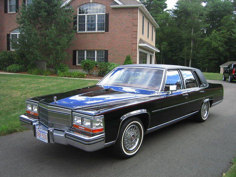 1989 Cadillac Brougham | Clic Vehicles | Pinterest | Cadillac ...