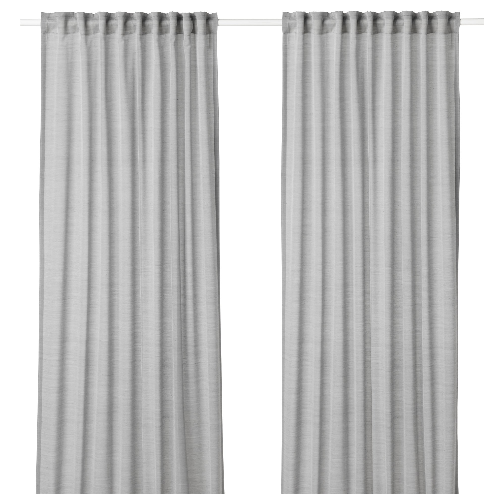 Hilja Curtains 1 Pair Gray Ikea Curtains Ikea Curtains Ikea