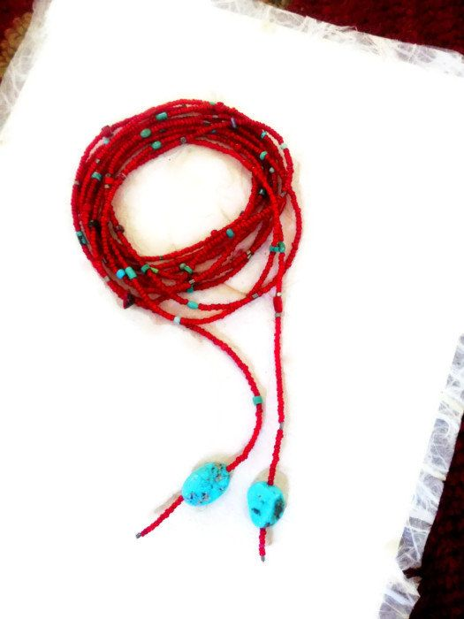 Vibrant White Heart Seed Bead Lariat  mixed by NakedPlanetJewelry, $138.50  #Redwhitehearts, #whiteheartbeads, #africantradebeads, #bohojewelry, #tribaljewelry, #KarenLernerJewelry, #Nakedplanetjewelry, #redbeads, #redbeadedlariat, #redlariat, #lariatnecklace, #uniquejewelry, #Oldwhitehearts, #sundancejewelry, #sundancestylejewelry, #turquoisejewelry,