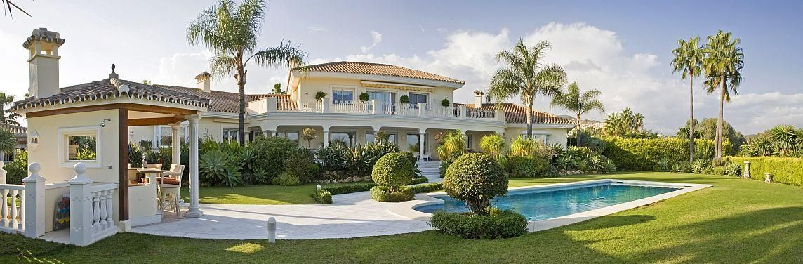 Marbella Mansion With Grand Designs Living In Marbella House