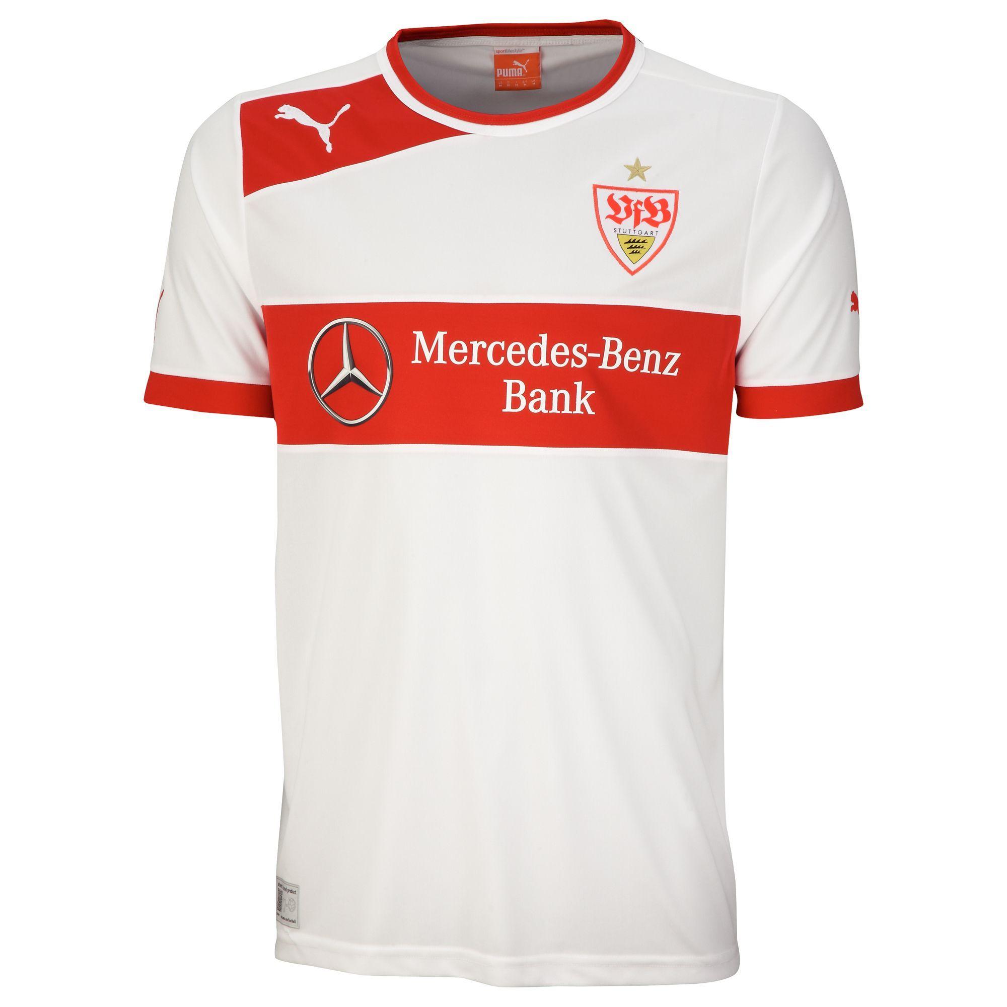VfB Stuttgart (Germany) - 2012 2013 Puma Home Shirt Camisas De Futebol 9018fe36f2727