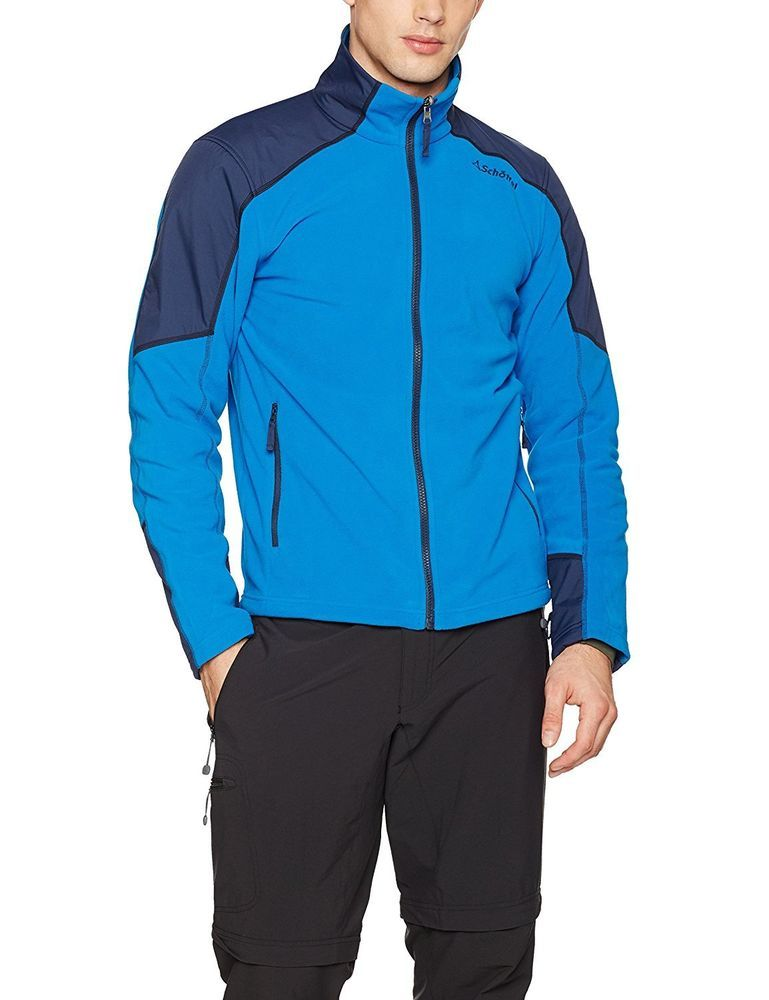 super quality official store reliable quality Schoffel MONACO Zip-in men's Altai fleece jacket uk 44 Blue ...