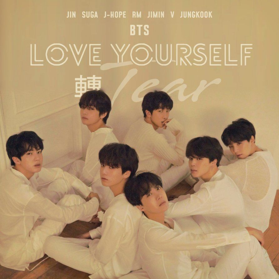 Fake Love Wallpapers: BTS LOVE YOURSELF ALBUM VERSION U #FAKELOVE