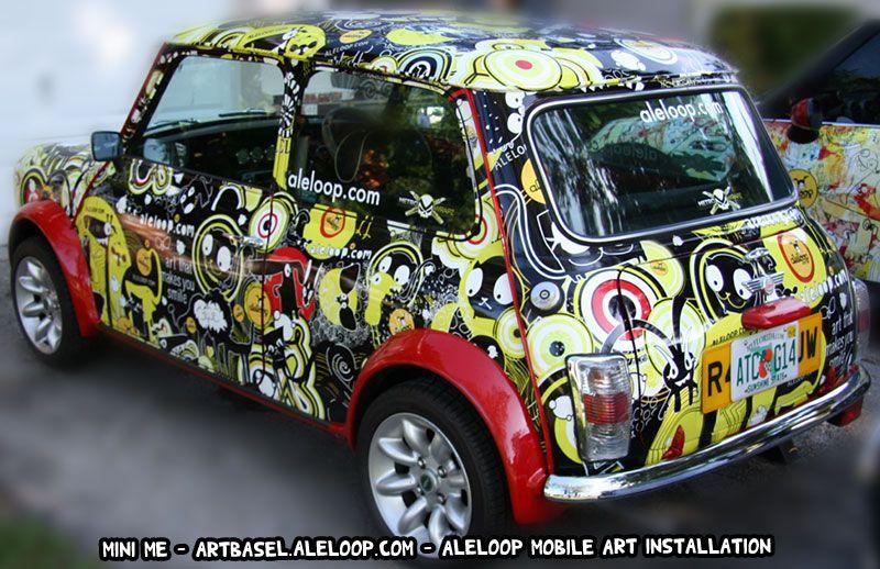 Delicieux Aleloop Art Mini Cooper