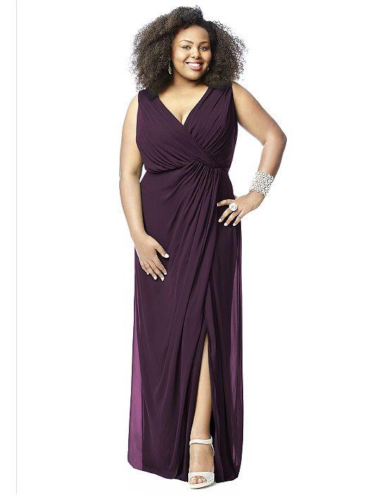 Aubergine - Lovelie Plus Size Bridesmaid Style 9006 http://www.dessy.com/dresses/bridesmaid/9006/#.Vc5p2hNViko