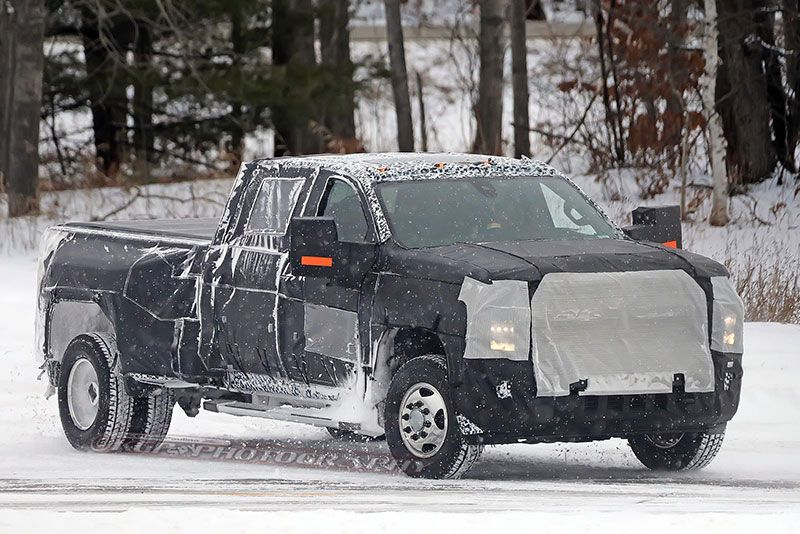 Spy Shots: 2020 Chevrolet Silverado 2500-3500HD Trucks ...
