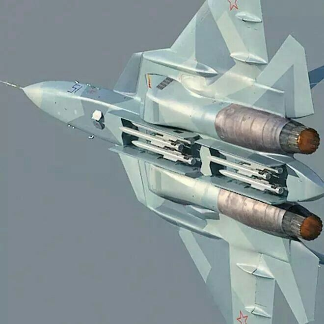 Su-57 Internal weapon bay