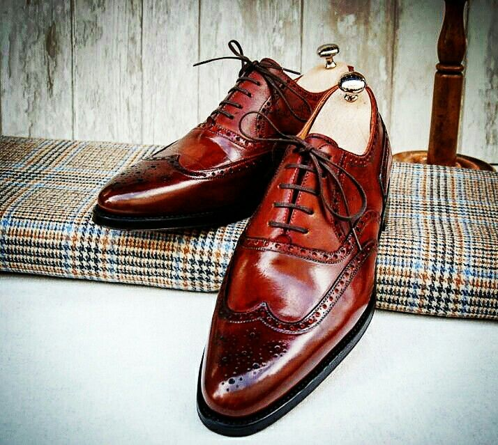 mahogany dress shoes