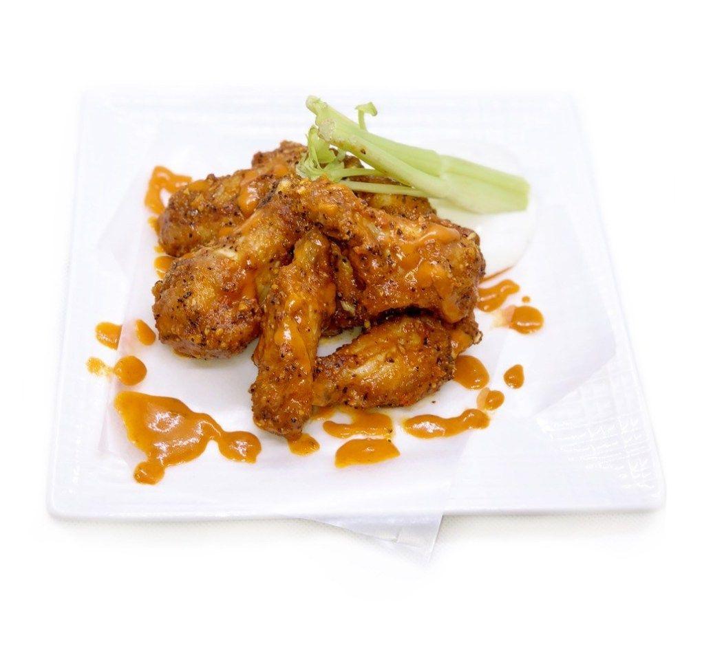 Buffalo lemon pepper wings recipe stuffed peppers