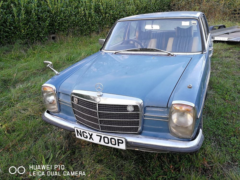 eBay: MERCEDES BENZ 200 W 114/115 1976 CLASSIC Spares or Repair ...