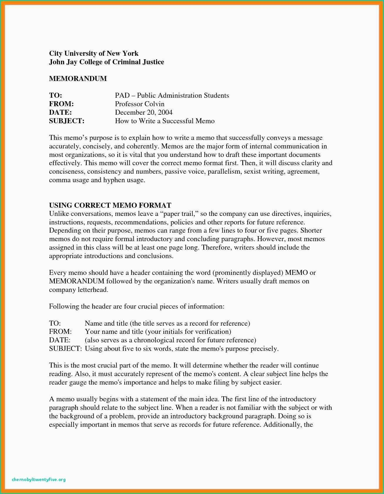 Formal Letter format Example Sample Business Letter