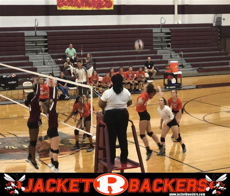 Rockwall Lady Jackets Jv Volleyball Team Easily Handle Mesquite High School In A Friday Night Matchup The Lady Ja Volleyball Team Jackets For Women Volleyball