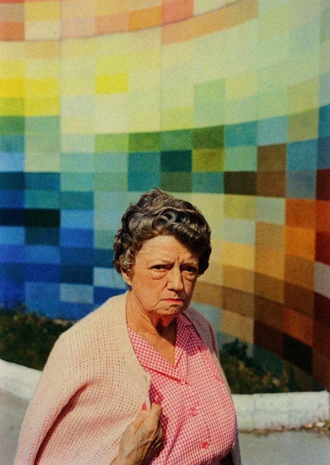 frustration William eggleston, Color photography
