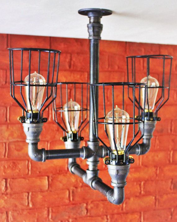 Industrial Chandelier Steampunk Lighting Industrial Kitchen Bar Light Dining Table Industrial Lighti Industrial Chandelier Steampunk Lighting Iron Lighting