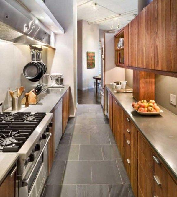 cocinas estrechas | Mi casa soñada | Pinterest | Cocina estrecha ...
