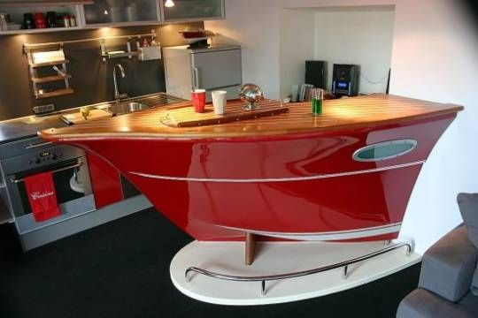 Bar Countertop Ideas Enchanting Boatshaped Bar Counter  Ideas For The House  Pinterest  Bar Inspiration Design