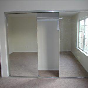 Lovely Sliding Mirror Closet Door Top Track