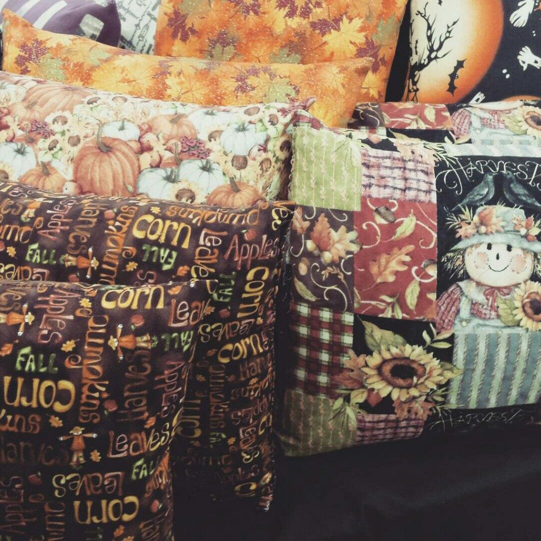 Fall pillows are in get them while they last !