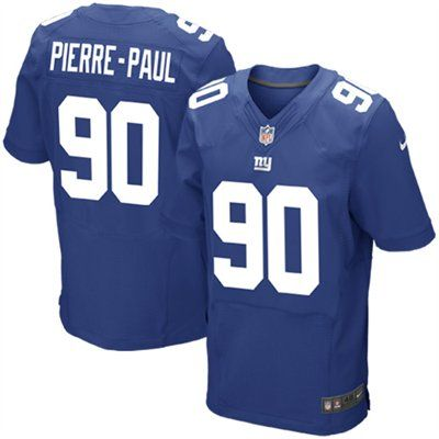 63190a82 NFL Mens Elite Nike New York Giants #90 Jason Pierre-Paul Team Color ...