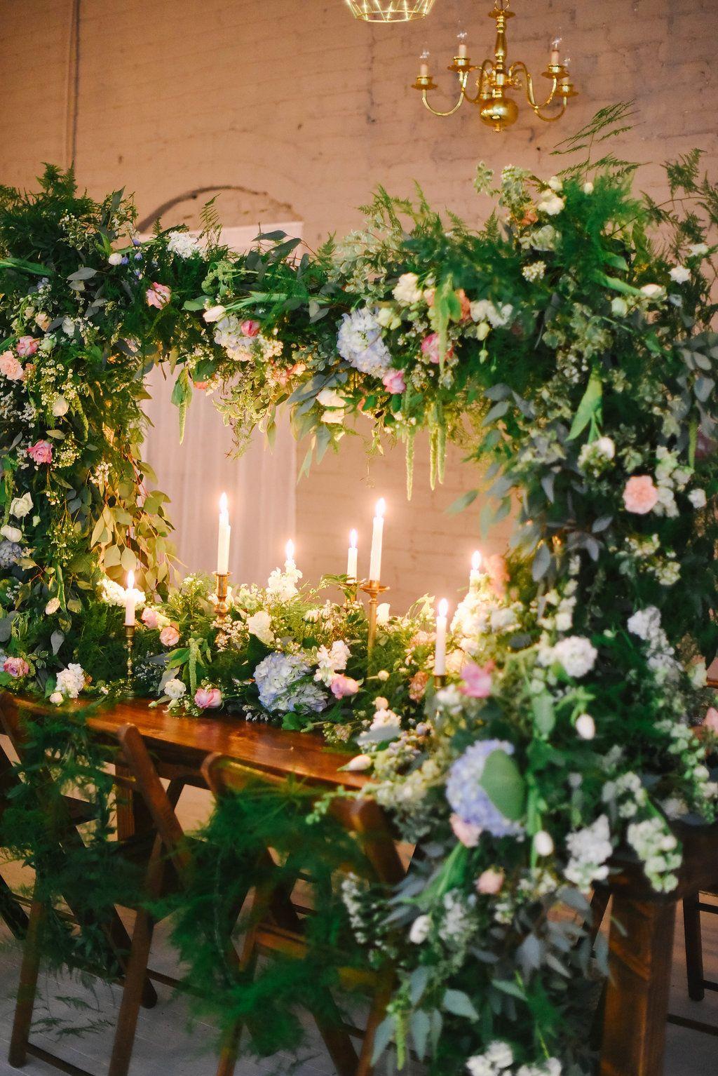 Spring Indoor Garden Wedding Inspiration Ruffled Indoor Garden Wedding Indoor Garden Party Wedding Themes Spring