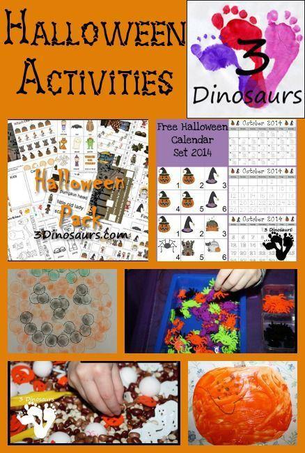 25+ Halloween Activities  Printables Activities and Halloween ideas - halloween activities ideas