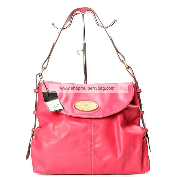 5f08c7925e ... italy mulberry womens hayden leather shoulder bag red 27445 b17e8