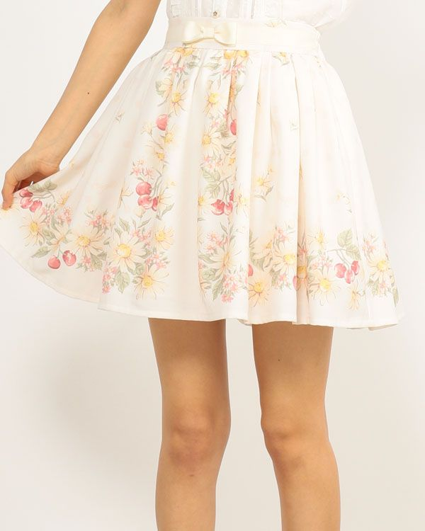 【予約】マーガレットチェリースカート|渋谷109で人気のガーリーファッション リズリサ公式通販