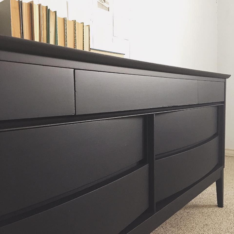 Best Lavished In Lamp Black Black Painted Furniture Mid 400 x 300