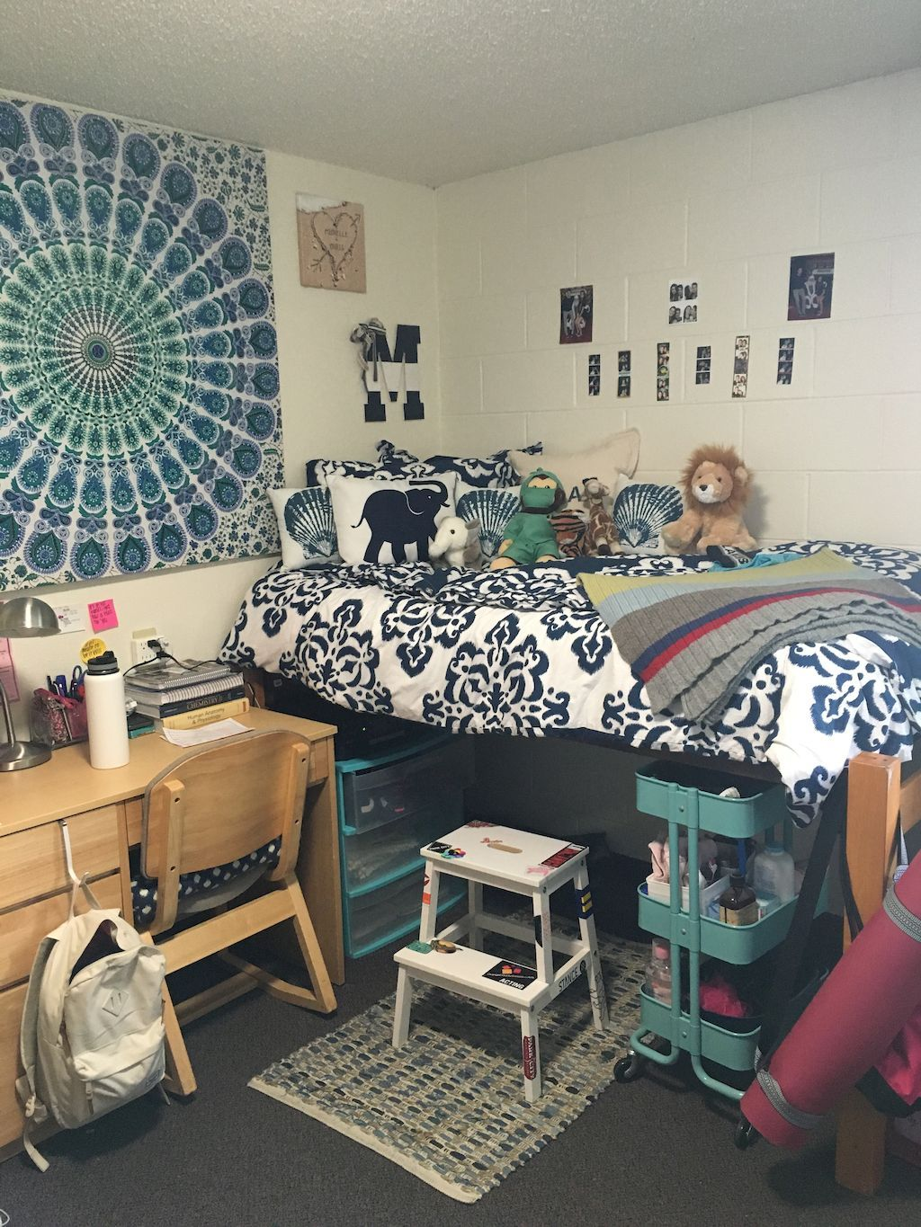 75 creative dorm room storage organization ideas on a - College dorm room ideas examples ...