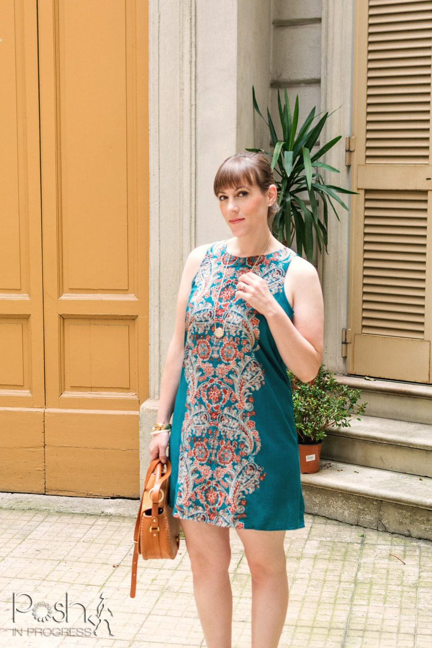 6 Easy Tips for Styling Shift Dresses -- Florence, Italy