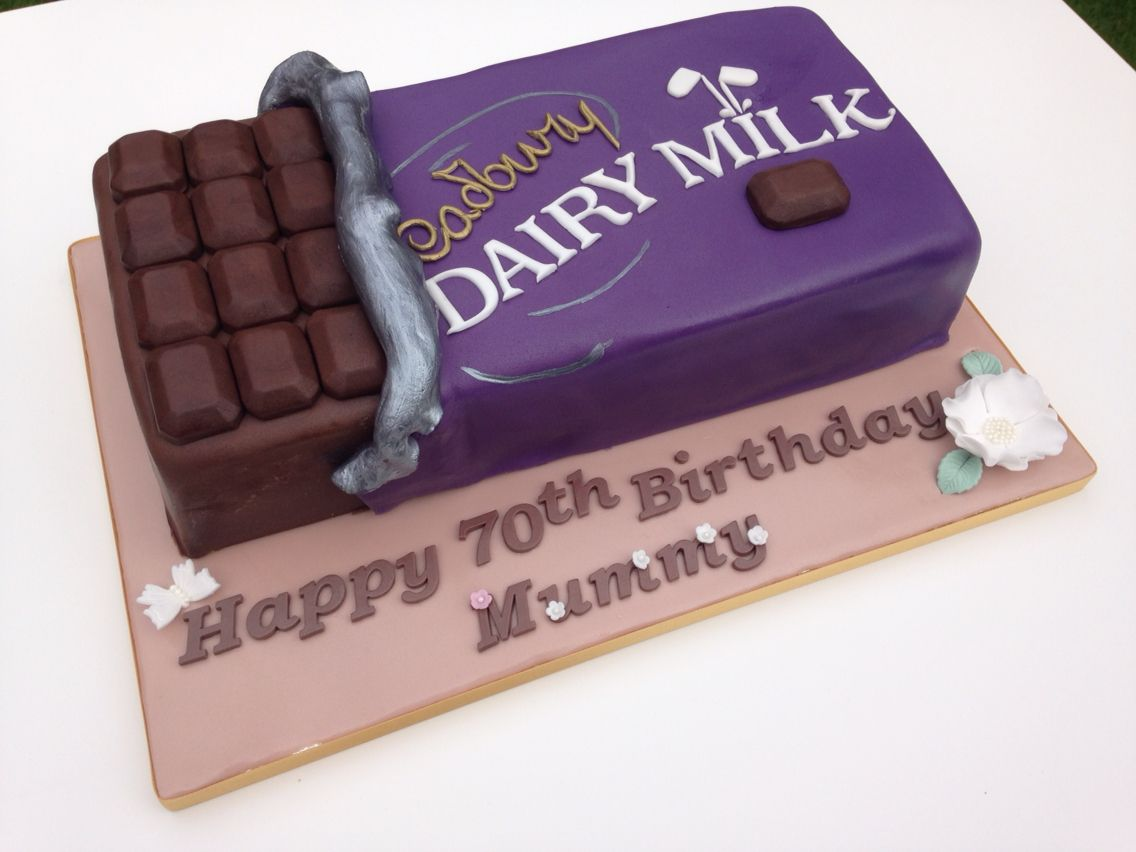 Cadbury Dairy Milk Chocolate Bar Cake Chocolate bar