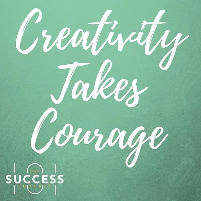 Be creative. Tag someone @success101podcast  @success101podcast