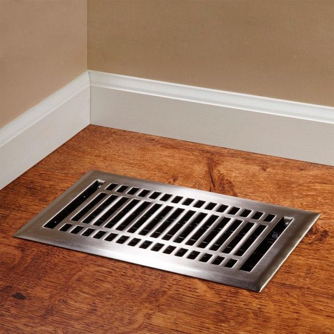 Contemporary Steel Floor Register Registers Hardware Floor Registers Floor Vent Covers Floor Vents