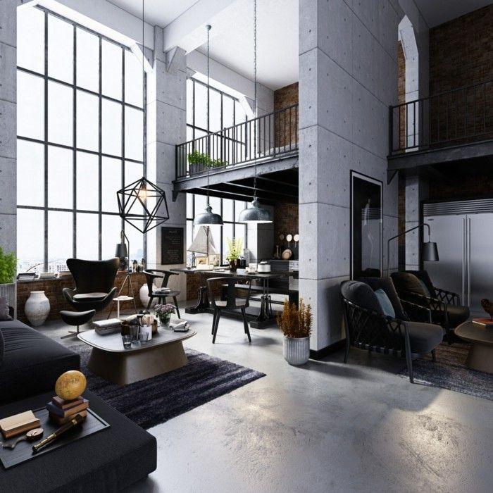 beleuchtung decke dunkeles interior lichtgestaltung Leuchten - abgehängte decke wohnzimmer