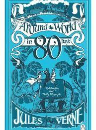 Around the world in 80 days by Jules Verne www.bibliotheeklangedijk.nl
