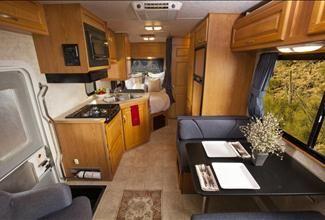 Cruise America Motorhome Interior Motorhome Cabin Interiors