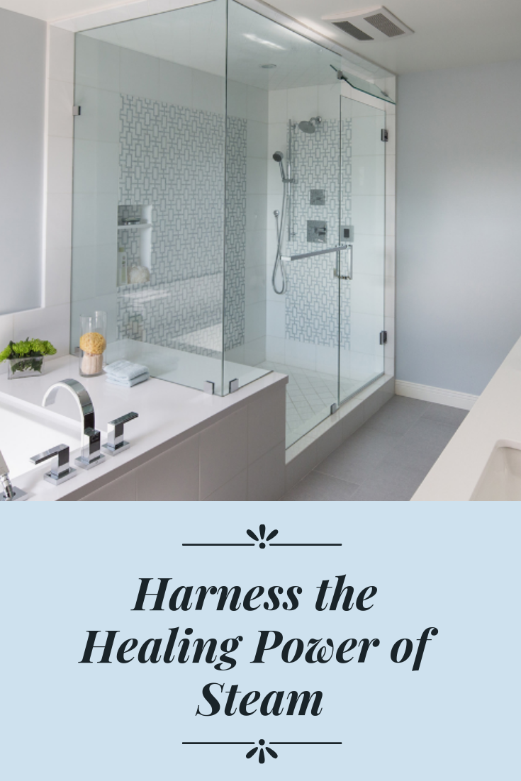 Harness The Healing Power Of Steam With Images Bathroom Layout