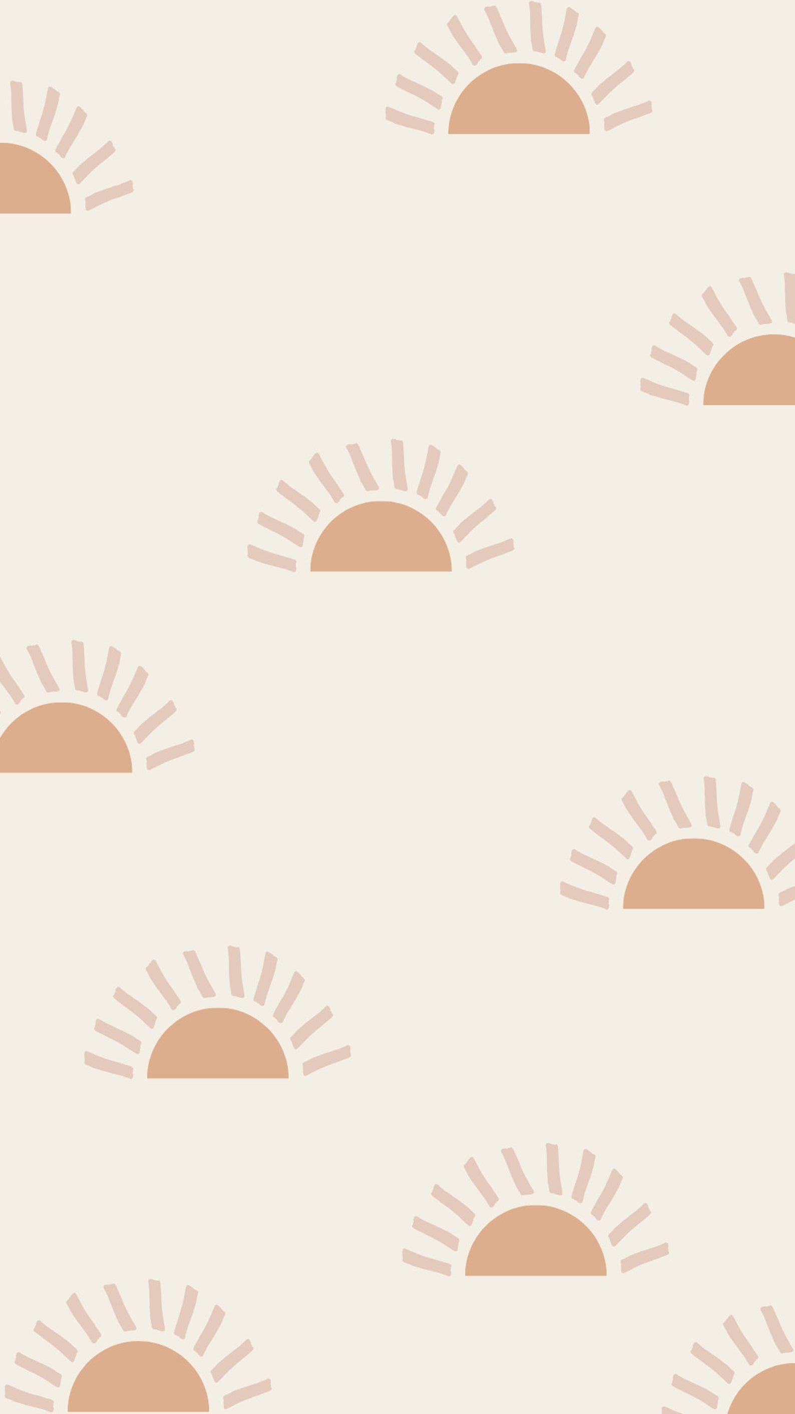 20 Boho Phone Wallpapers, Pink Digital Wallpapers, Digital iPhone Backgrounds, Pastel Positivity Wallpaper Designs