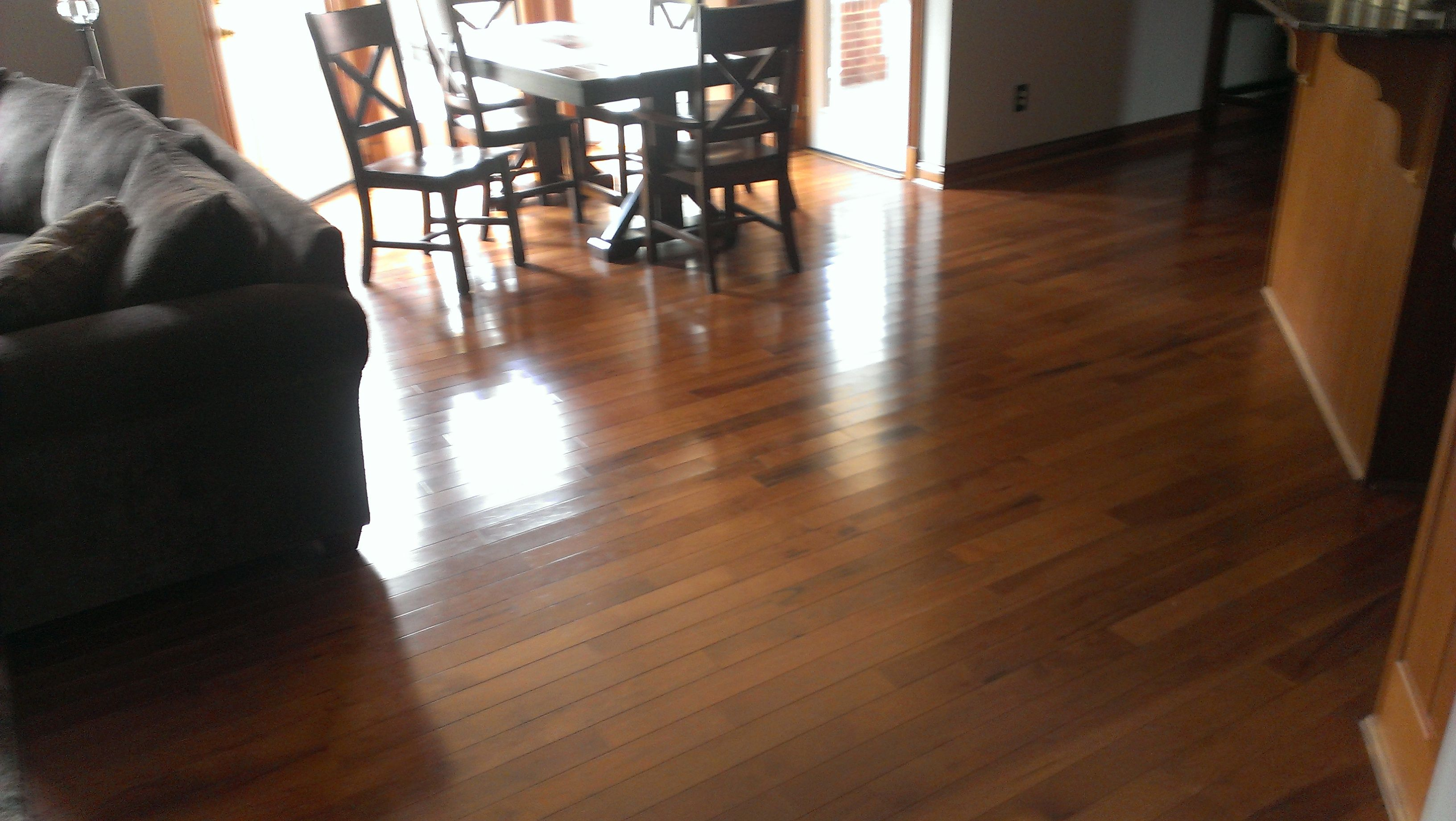 Beautiful somerset hardwood flooring installed in loveland ohio style character grade color hickory saddle home based carpet flooring installed nearly
