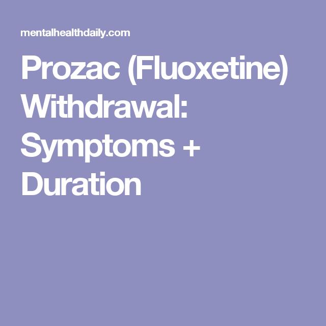Prozac by mail