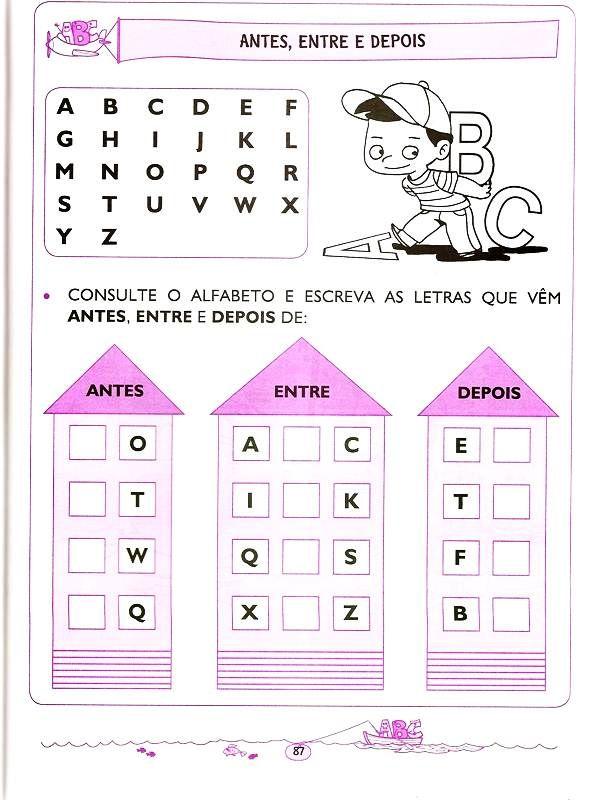 Atividades Para Criancas De 5 E 6 Anos Lingua Portuguesa Com