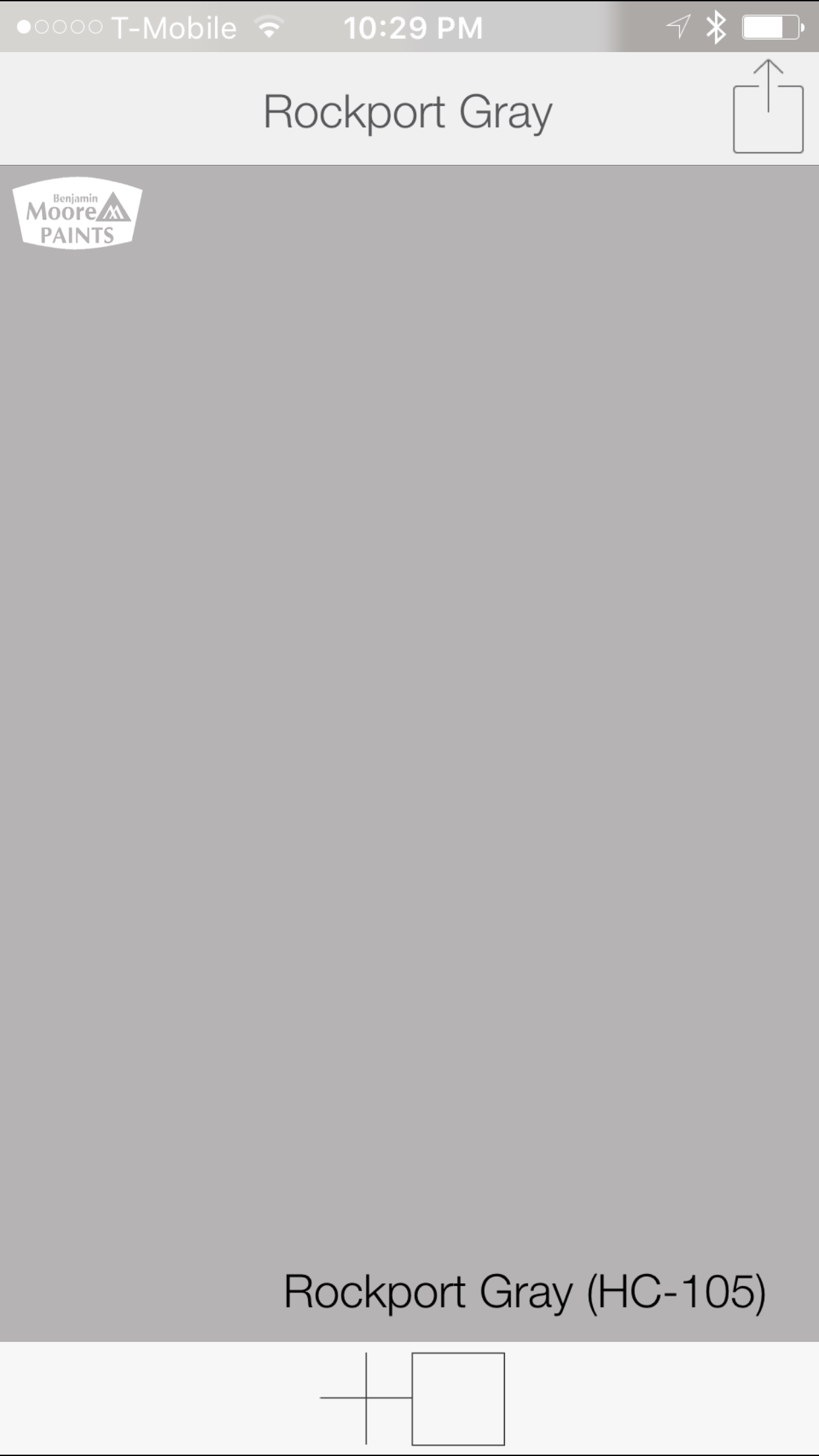 Warm Gray Color From Benjamin Moore Rockport Hc 105 Swatchdeck