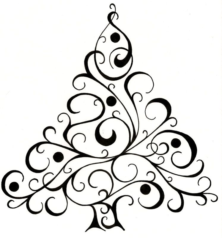 Christmas Card Design Christmas Tree Drawing Christmas Card Design Christmas Drawing