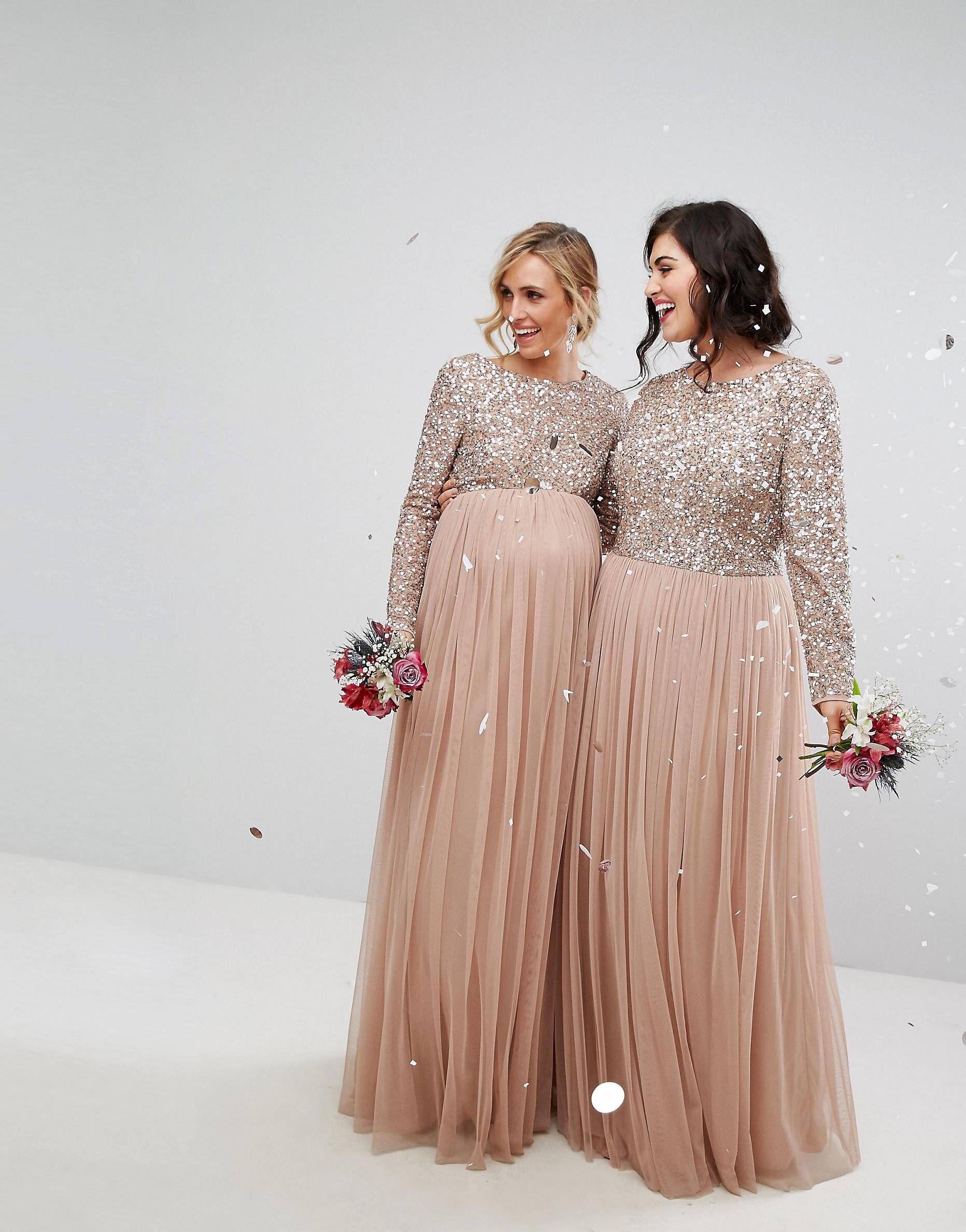 Love This From Asos Maternity Bridesmaid Dresses Bridesmaid Dresses Plus Size Maternity Bridesmaid Dress Long