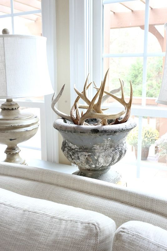 Tweaks Around The House Country Living Room Design French Country Living Room Country Decor Deer antler living room decor