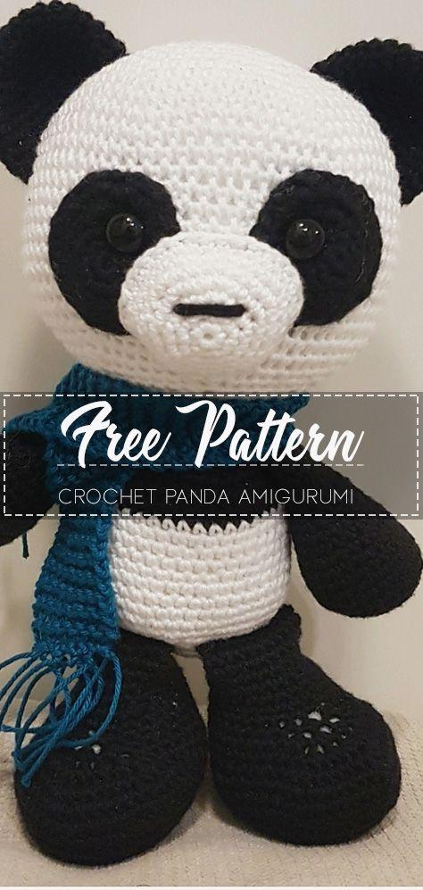 Pineapple Panda crochet pattern - Amigurumi Today | 997x474